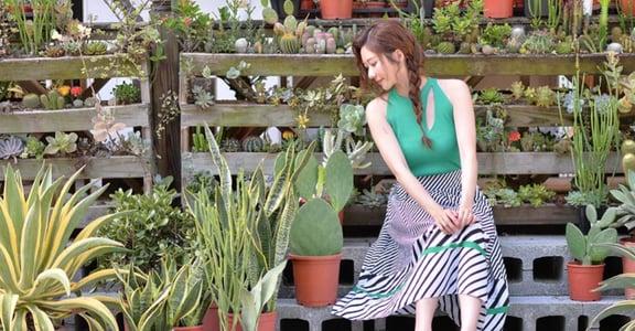 「照顧植物像愛一個人」專訪張景嵐:愛是純粹付出,而不期待回饋