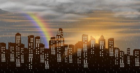 我在媽媽監牢的日子:有時候限制,讓人生看到更多彩虹