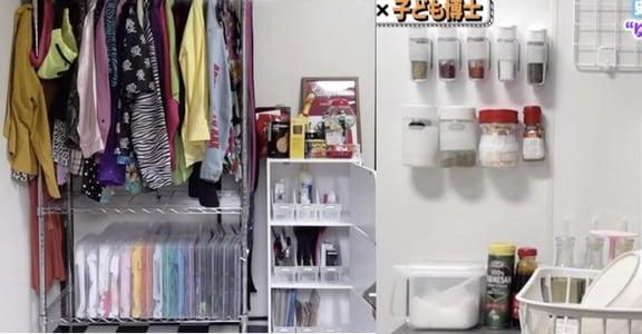 善用家裡就有的小東西!12 歲日本女孩的低成本收納術
