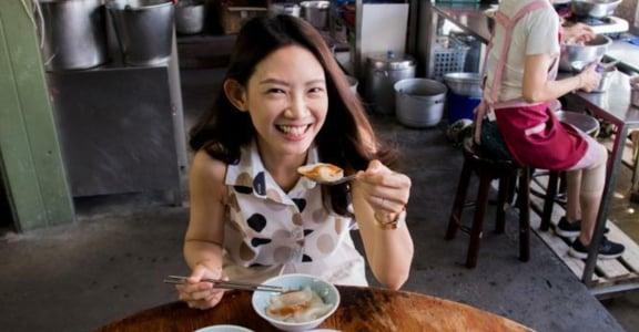 專訪金鐘獎主持人吳奕蓉,一早就吃客家鹹湯圓和水晶餃