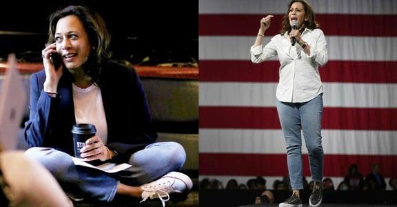 為什麼她總穿帆布鞋?美國首位女副總統賀錦麗穿搭背後的 3 個秘密