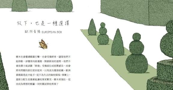幸福插畫|《願我化作一棵樹》:放下,也是一種選擇