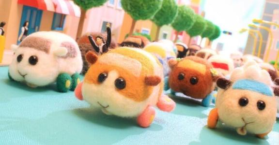 PUI PUI 天竺鼠車車為什麼這麼可愛?生活艱難,我們都需要療癒小物