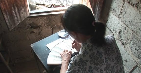 世界唯一的女性文字「女書」像極臉書回文:為妳寫詩,也為自己訴苦