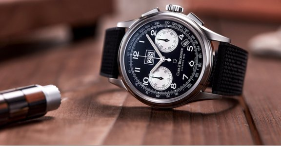 瑞士寶齊萊腕錶精品「黑白熊貓年曆計時」:傳承典雅靈魂,錶現當代美學