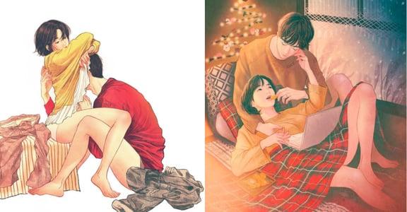 專訪韓國插畫家池世恩:戀人溫暖的體溫貼著我,我認為這是我創作的起點