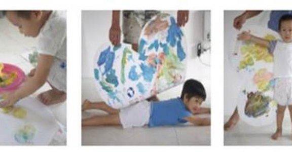 用塗鴉遊戲幫助孩子練習專注