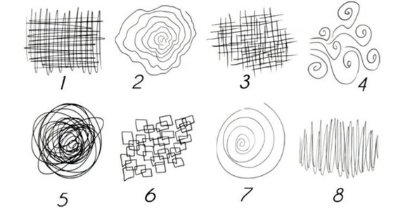 心理測驗 8 種隨筆塗鴉,透露現在的你,真正的壓力來源是什麼