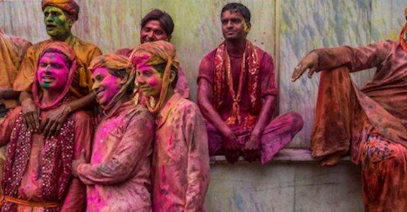 印度荷麗節!最色彩繽紛的傳統節慶