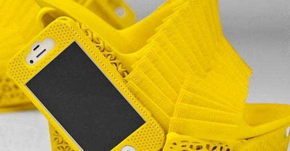 3D列印的無限可能,高跟鞋手機殼