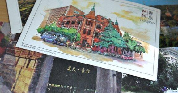 漂洋過海的明信片,我在台南遇見的東北女孩