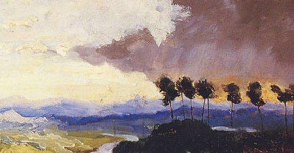 希特勒是天生藝術家?一窺名人的繪畫作品