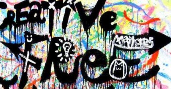 第一次,愛上塗鴉揮灑的感覺