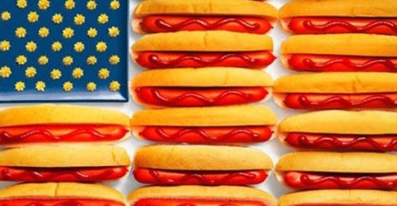 國旗老是記不起來?用吃得比較快