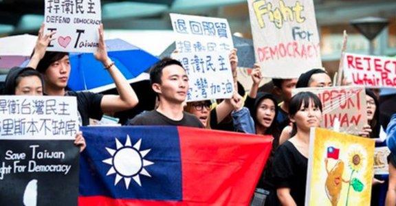 330世界接力遊行:我在澳洲布里斯本守護台灣