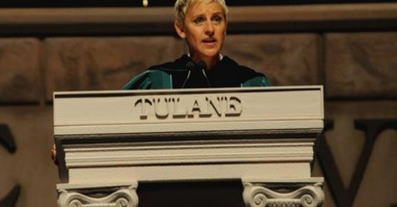 奧斯卡主持人艾倫.狄珍妮畢業演說:誠實才是真正的成功
