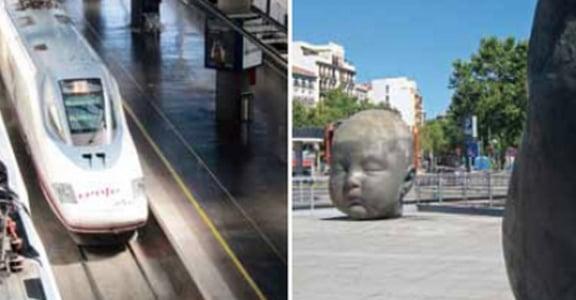 搭乘 AVE 西班牙高鐵旅行:第一站馬德里