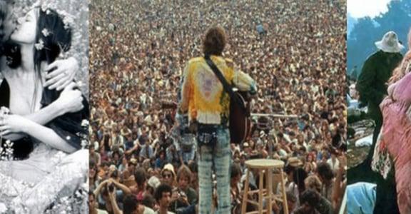 永恆的愛與和平!色彩斑斕的胡士托音樂節
