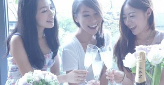 好姐妹的私房派對!來杯 Pineapple 氣泡酒