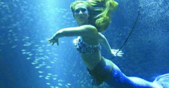 感受深海裡的快樂!化身小美人魚背後的故事