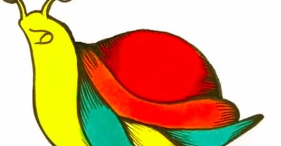 挺婚姻平權!一隻名為「彩虹」的蝸牛