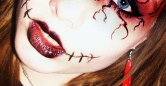 Halloween萬聖節,跑趴妝容靈感