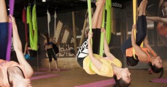身體與吊繩的戀愛關係!愛上空中瑜伽的四個理由