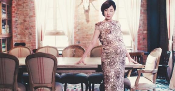 孕期第37週,我把自己塞進白紗,為己悅而容