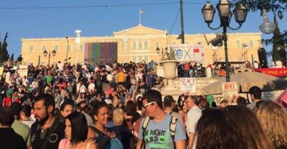 希臘公投直擊:「寧願破產離開,也不要成為歐元區的奴隸」
