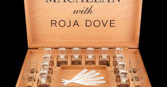 是香水還是酒?用聞的威士忌 Macallan and Roja Dove