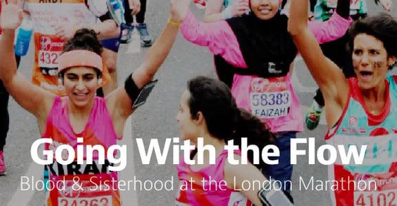 跑一場身體與思想的革命!馬拉松女孩琪蘭・甘地任經血染紅褲子