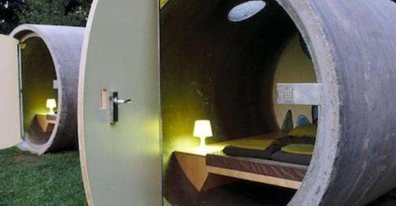 墨西哥 大管旅店 (Tube Hotel)