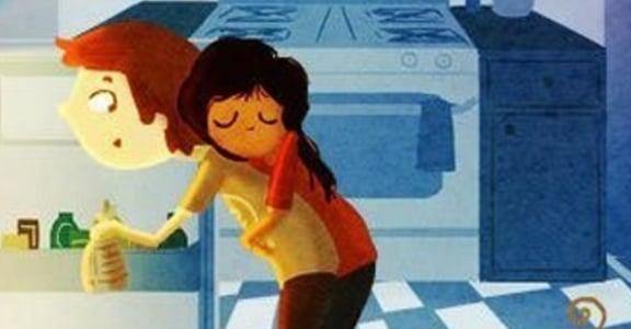 20 幅插畫捕捉相戀瞬間:愛上一個人,讓你有回家的感覺