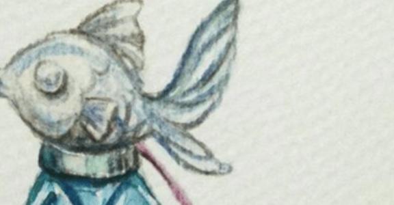 【大人的童話】裝滿回憶的湛藍香水瓶