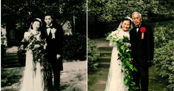 愛讓我們超越戰爭:超越半世紀的夫妻動人攝影