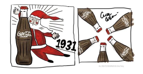 【聖誕節冷知識】聖誕老人從何時開始愛喝可樂?