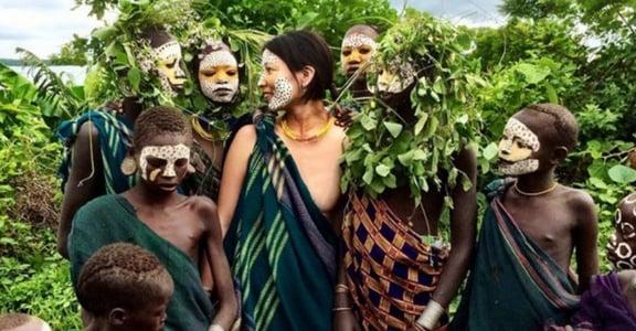 「全裸,是對文化的敬意」一個日本攝影師眼中的非洲