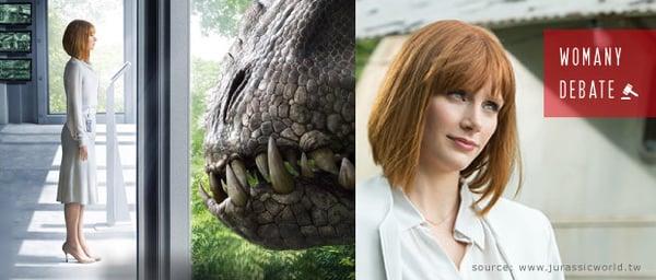 如果你是《侏羅紀世界》的女主角,你會穿著高跟鞋逃跑嗎?