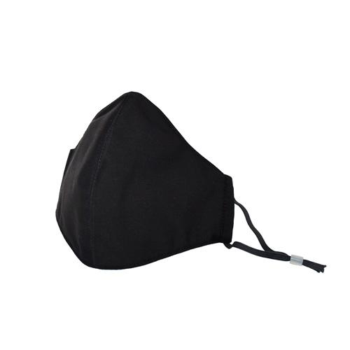 純黑素面口罩(已完售) 的圖片