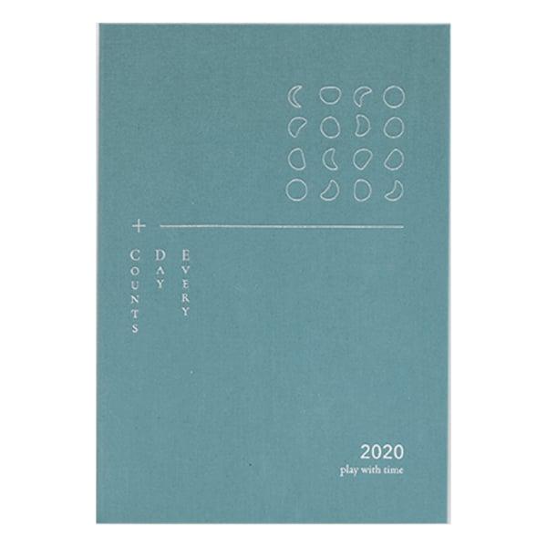 【最後加印預購】2020 play with time 手帳 (月海藍) 的圖片