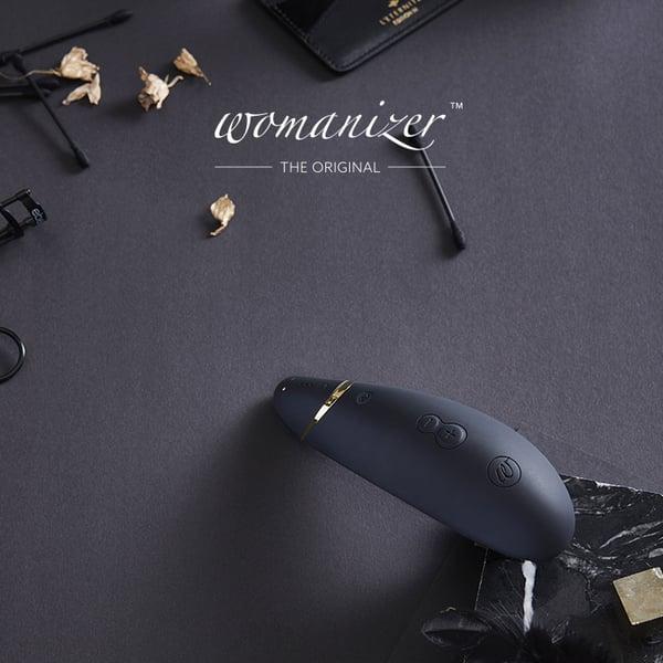 Womanizer|PREMIUM 吸吮愉悅器 /黑 的圖片