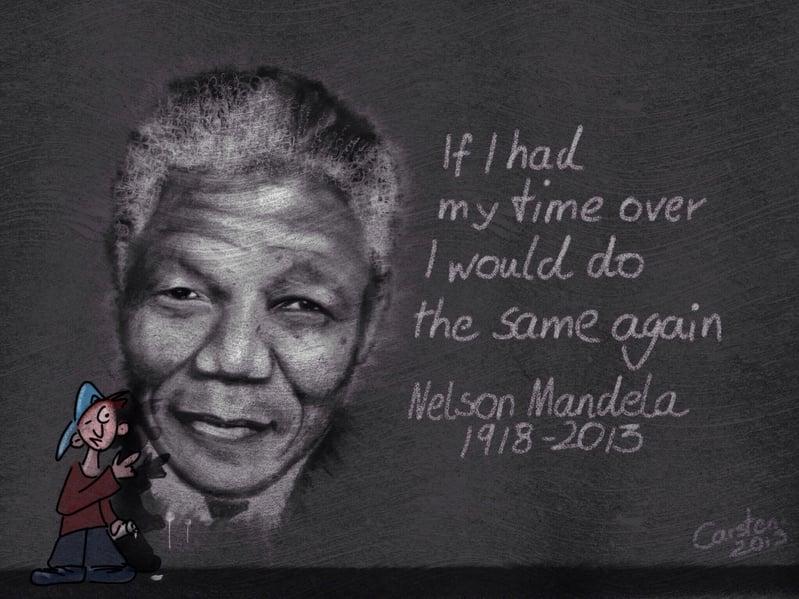 南非前總統曼德拉