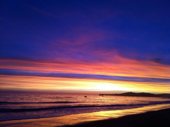 Awesome sunset from the beach - 聖塔巴巴拉Four Seasons Resort The Biltmore Santa Barbara的圖片