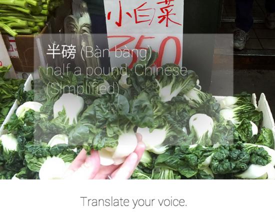 Google Glass - Translate