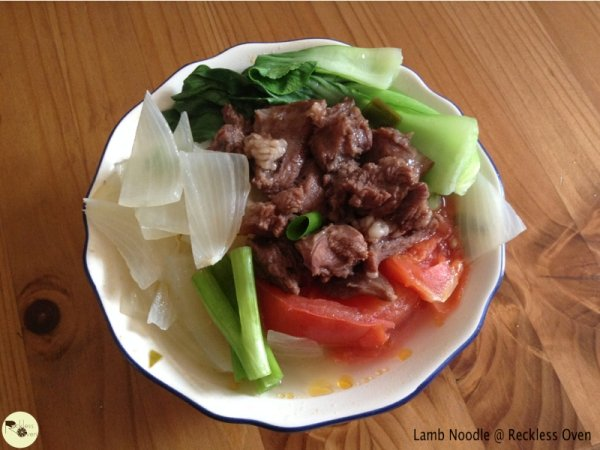 [Reckless Recipe] Lamb Noodle -3