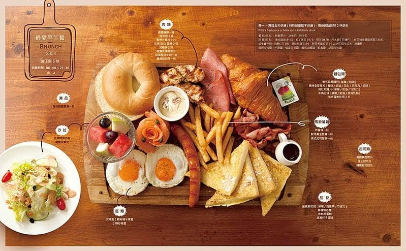 台北5間超人氣早午餐推薦!漢堡、班尼狄克蛋、法式土司讓人口水都要流下來啦!-5