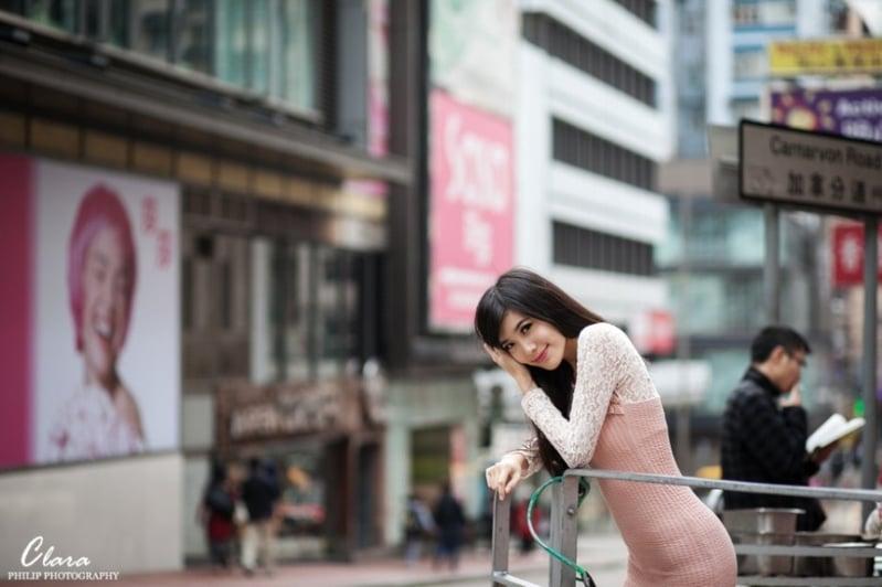 攝影/ Philip Chan Model/ Clara Wat