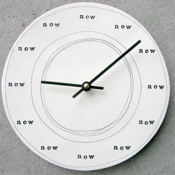 牆上的時間只有現在