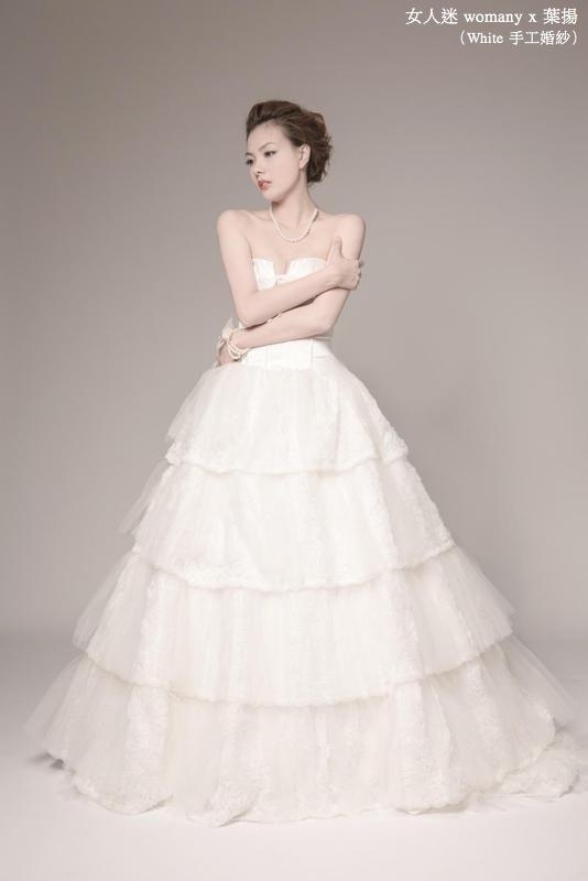 女人迷 womany x 葉揚 不一樣的婚紗:安靜的婚紗