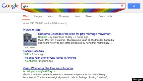 google for gay